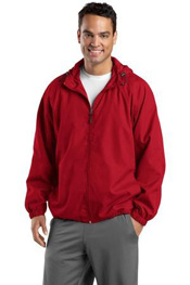 JST73 Sport-Tek Hooded Raglan Jacket