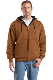 CS620 Cornerstone Heavyweight Full-Zip Thermal Lined Hooded Sweatshirt