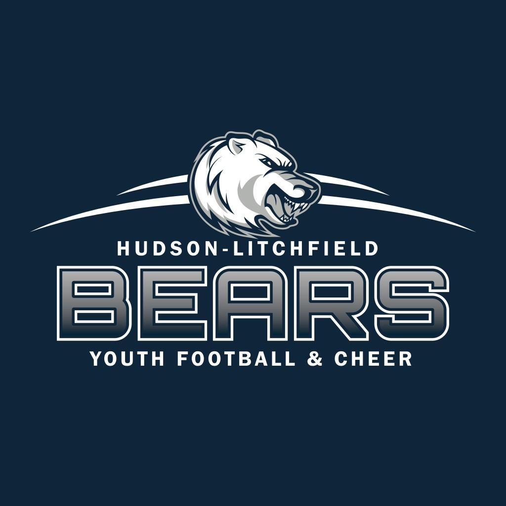 7558 Hudson-Litchfield Bears - Full Logo 2015 (For Dark Backgrounds)