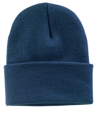 CP90- Port & Co. Fold-Over Cuff Knit Beanie